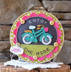 Enjoy The Ride Hoop by Amy Sheffer For Papertrey Ink (April 2016)