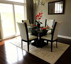 dining room stagd Dining Room Table, Staging, Furniture, Home Decor, Image, Role Play, Decoration Home, Room Decor, Home Furniture