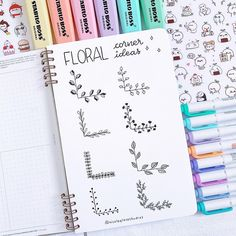 Bullet Journal Doodles: 20 Amazing Doodle Ideas For Beginners & Beyond! - Meraadi These bullet journal doodles and doodle tips and ideas are exactly what you need to learn how to doodle. Perfect for beginners and more advanced doodlers! Bullet Journal School, Bullet Journal Inspo, Bullet Journal Titles, Bullet Journal Banner, Journal Fonts, Bullet Journal Aesthetic, Bullet Journal Notebook, Bullet Journal Spread, Bullet Journals