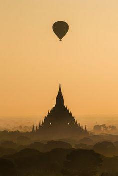 Bagan by Nattapon Sritrairat - Photo 147137639 / 500px