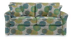Leah Supreme Comfort™ Full Sleeper by La-Z-Boy - chrysanthemum fabric