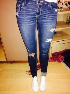 Hollister Jeans Löcher - kleiderkreisel.de