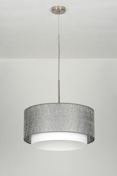 Závěsné svítidlo Eleonorra Grey I Modern Hanging Lights, Pendant Lighting, Chandelier, Lamp Design, Lamp Light, Home Projects, Sweet Home, Room Decor, Ceiling Lights
