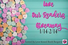 When 56 romanceauthors get together to showreaders their love, big things happen. Big like the chance to enter and win$1100 in Amazon Gift Cards!  One