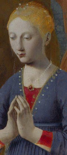 La Nativité Piero Della Francesca Vers 1480 Technique Huile sur bois 124x0cm Exposé à Londres (Angleterre) au National Gallery