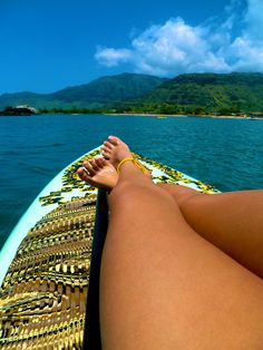 SUP break... enjoy the view!!