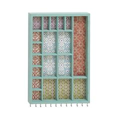 Check out the Woodland Imports 55549 Well Designed Beautiful Wood Wall Jewelry Holder Jewelry Holder Wall, Jewelry Wall, Jewellery Holder, Fine Jewelry, Wall Boxes, Rustic Jewelry, Dot And Bo, Jewellery Storage, Jewelry Organization