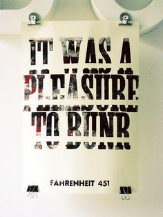 Tribute To Ray Bradbury Cabarettypographietumblr Post