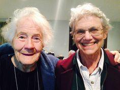 SOHA2015's favorite mother-daughter team:  SOHA Lifetime member Nellie Amondson and her daughter, SOHA Past President Jean Maria Arrigo