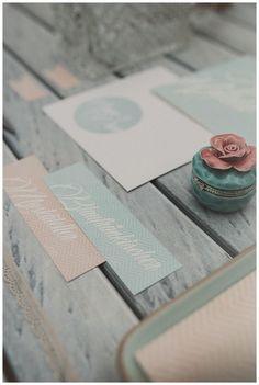 Two brides, mint, peach, white, brides, decoration, stationary - Hellbunt Events