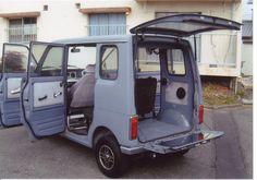 HONDA Life StepVan360 Honda Type R, Kei Car, Step Van, Honda Motors, Commercial Ads, Recreational Vehicles, Minis, Dream Cars, Motorcycle