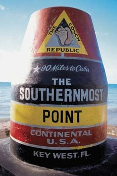 Went to the Southernmost Point of the Continental US - Spring Break 2007