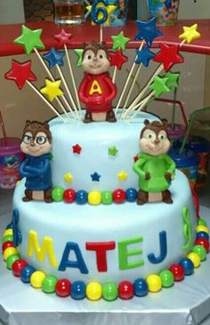 My boy birthday cake