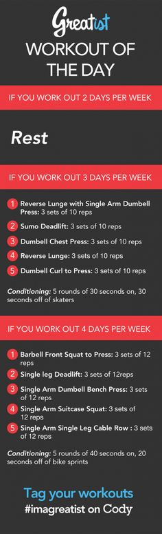 Greatist Workout of the Day: Friday August 9th | Greatist