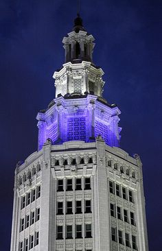 Electric Tower, Buffalo, NY.  Photo by me.