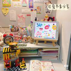 Room Design Bedroom, Room Ideas Bedroom, Bedroom Decor, Study Room Decor, Cute Room Decor, Otaku Room, Minimalist Room, Pretty Room, Aesthetic Room Decor