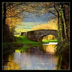 Monmouthshire and Brecon Canal, Monmouthshire Wales ♥ Beautiful at any time of year...