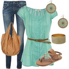 summer outfit by Sallyyy :)