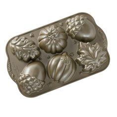 Nordic Ware Fall Cakelet Pan