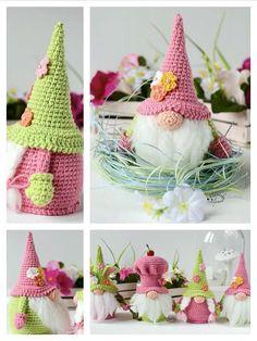 Crochet Cactus, Crochet Mandala Pattern, Crochet Patterns Amigurumi, Crochet Dolls, Crochet Stitches, Crochet Classes, Crochet Projects, Crochet Christmas Ornaments, Free Crochet