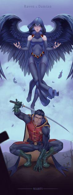 Aquaman Dc Comics, Dc Comics Heroes, Dc Comics Art, Comics Girls, Raven Anime, Raven Fanart, Raven Teen Titans Go, Teen Titans Fanart, Raven Superhero