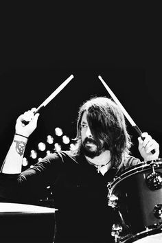Dave Grohl - Foo Fighters / Black & White Photography