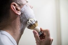 A shaving brush is one of the key elements to getting the perfect shave. Here's a guide on how to use a badger hair shaving brush properly. Chin Beard, Goatee Beard, Shaving Tips, Shaving Brush, Wet Shaving, French Beard Styles, Van Dyke Beard, Popular Beard Styles, Walrus Mustache