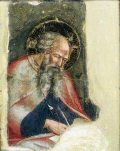 Spinello Aretino - Frammento dalla Cappella Manetti - 1387-91 - affresco staccato - Museo Nazionale di San Matteo, Pisa