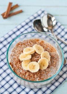 Cinnamon Banana Breakfast Bulgur