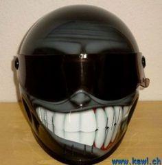 Motorcycle Helmet Design | #ridesafe #protectyourpumpkin