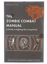 The Zombie Combat Manual at PLASTICLAND