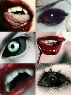 Vampire Love, Vampire Girls, Vampire Art, Face Off, Dark Fantasy, Special Effect Contact Lenses, Vampires And Werewolves, Creatures Of The Night, Sang
