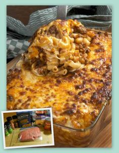 "Beefy Mac and Cheese - A great ""quick dinner"" for the family!"