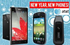 newyear New Year, New Phones Giveaway! Win the LG Optimus G for AT and More!