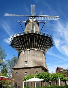 The De Gooyer Windmill, Amsterdam, Netherlands
