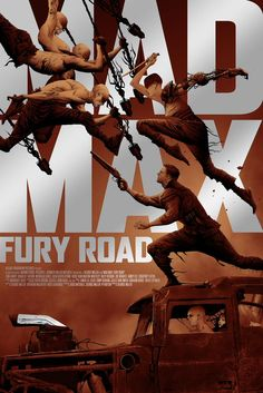 Mad Max: Fury Road - movie poster - Jae Lee