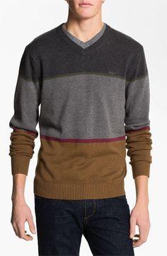 RVCA Stripe Crewneck Sweater