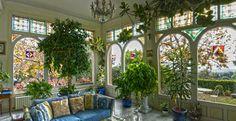 Oranżenia, ogród zimowy, rośliny w domu, salon. Zobacz więcej na: https://www.homify.pl/katalogi-inspiracji/15468/ogrod-zimowy-wskazowki-i-porady
