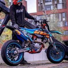 Ktm Dirt Bikes, Cool Dirt Bikes, Ktm Motorcycles, Suzuki Motorcycle, Girl Motorcycle, Dirt Biking, Motorcycle Quotes, Custom Motorcycles, Ktm Supermoto