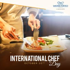 On this International Chef Day, we extend our thanks to all our culinarians who make our guests drool over delicious food. Delicious Food, Animal, Ethnic Recipes, Yummy Food, Animals, Animaux, Animales