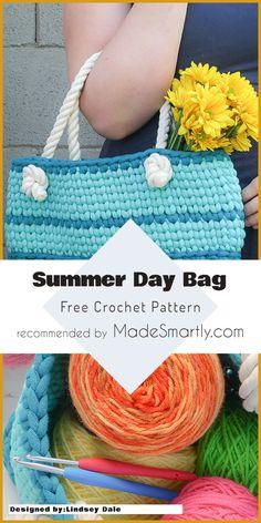 Summer Day Bag - Free Crochet Pattern