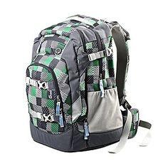 af9e874eddb7b Satch Schulrucksack karo grün ◘ Der coole und funktionelle Rucksack Satch  ist ein super Rucksack