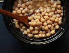 Throw a pound of chickpeas in a slow cooker (no soaking required) and just like that, you can replace four cans. Not only do they taste better in the long run, they're a heck of a lot cheaper and healthier.