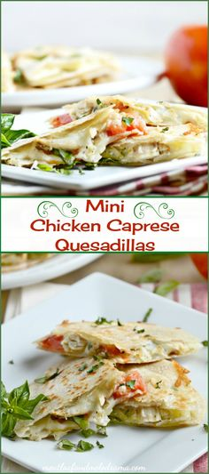 Mini Chicken Caprese