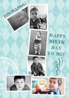 jongen feest 1 jaar van foto's 1