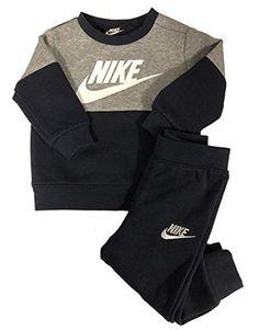8d9c517658 Best Seller NIKE Baby Boy?s Colorblock Fleece Sweater Pants Set online