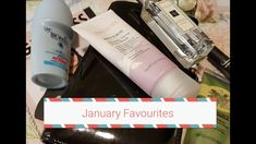 January Favourites:  beauty,  books &  planners