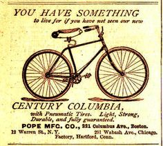 Columbia & 1893 Chicago Worlds Fair Museum – The Online Bicycle Museum Political Reform, Columbia, Victorian Era, Vintage Photos, Einstein, History, Posters, Bike, Cycling