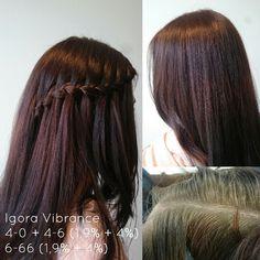 Hiustenvärjäys Parityöskentelynä Igora Vibrance värikoulutus 3/2017