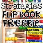 This FREEBIE is a fun flap book that your can use to review addition strategies.   The following strategies are included: * Number Lines * Snap Cub...